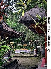 Pura Luhur Batukau Batukaru Hindu temple in Tabanan, Bali, ...