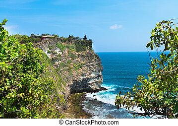 Pura Luhur Uluwatu, Bali, Indonesia - temple complex on the ...