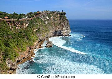 Pura Luhur Uluwatu. Kuta South, Bali, Indonesia