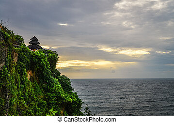 Pura Luhur Uluwatu temple, Bali, Indonesia. Amazing ...