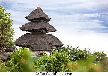 Pura Luhur Uluwatu Temple, Bali, Indonesia