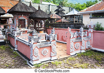 Pura Pasar Agung, Bali, Indonesia - Image of a Balinese...