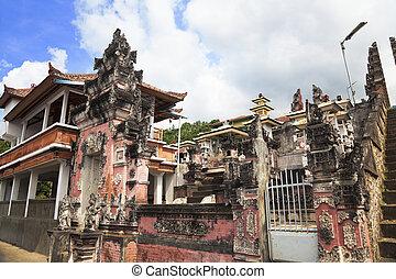 Pura Pasar Agung, Bali, Indonesia - Image of a Hindu temple...