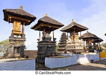 Pura Penataran Agung, Besakih, Bali, Indonesia - Image of...