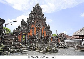 Pura Penataran Pande, Ubud, Bali, Indonesia - Image of the...
