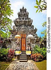 Pura Prasasti Blanjong Temple in Undang, Bali, Indonesia