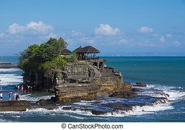Pura Tanah Lot - temple in the sea. Bali, Indonesia