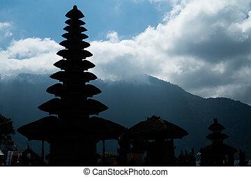 Pura Ulun Danu Bratan Temple, Bedugul Mountains, Bratan Lake, Bali