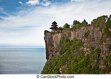 Pura Uluwatu temple on Bali, Indonesia