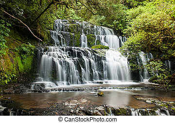 Purakaunui Falls