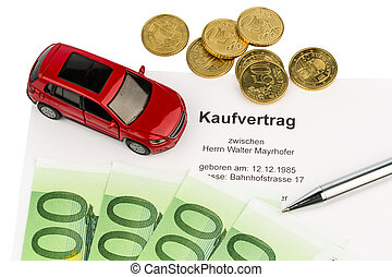 purchase contract for car