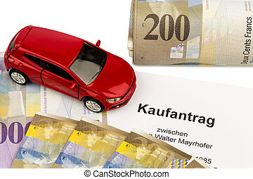 purchase contract for new car