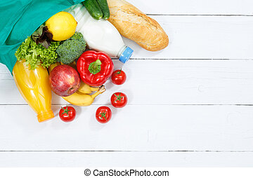 Purchase food purchases fruits and vegetables from above copyspace copy space wooden board