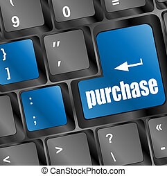 purchase key in place of enter keyboard button