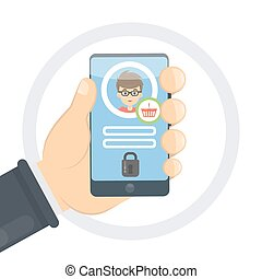 Purchase protection on smartphone.