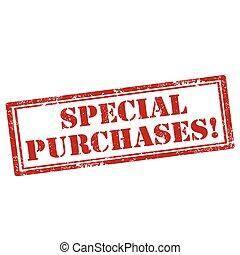 purchase-stamp, bijzondere