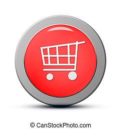 Purchasing cart icon