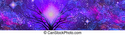 Pure - Purple Landscape
