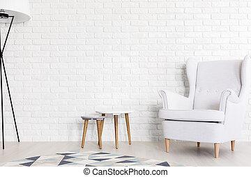 Pure white design adding harmony to contemporary interior - ...