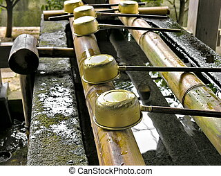 Purification Fountain - A hand washing and purification...