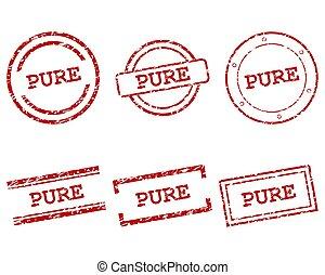 puro, francobolli