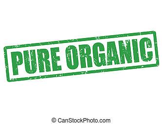 puro, organico, francobollo