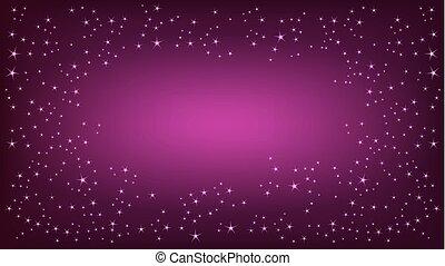 purpere achtergrond, ruimte
