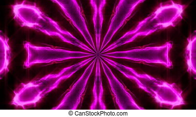 Purple abstract kaleidoscope background