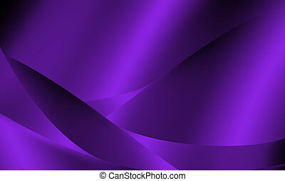 Purple abstract line and curve background