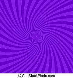 Purple abstract spiral design background