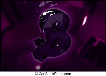 Purple Ampersand