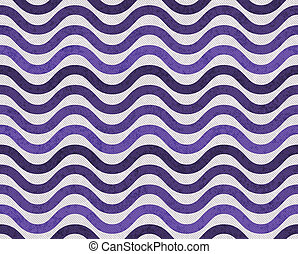 Purple and Gray Wavy Textured Fabric Background - Purple and...