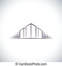 Purple architect logo