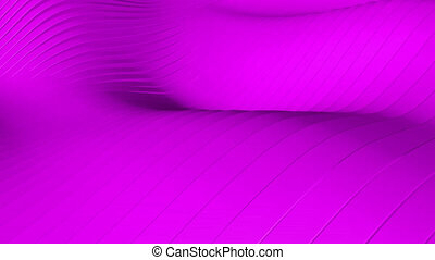 Beautiful purple background with wawes