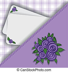Purple background for your notes - beautiful purple...