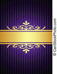 purple background
