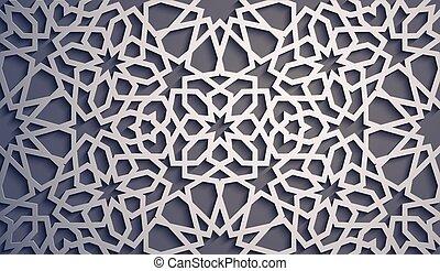 Purple background . Islamic ornament vector , persian motiff...