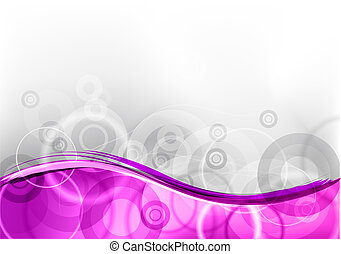 purple abstract background with wave