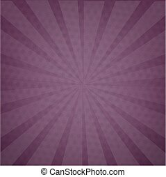 Purple Background Texture With Sunburst