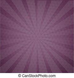 Purple Background Texture With Sunburst