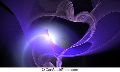 purple blue motion bg