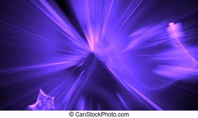 purple blue particle motion bg