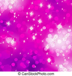 Purple bokeh background. EPS 8