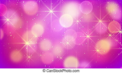 purple bokeh lights and fairy dust