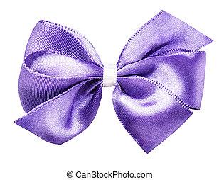 purple bow ribbon