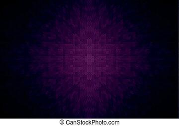 Purple brick backdrop