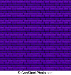Purple Brick Wall Seamless Texture