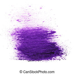 purple brush strokes oil paint