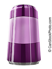 Purple can of soda