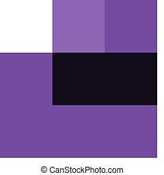 Purple chicken on white background
